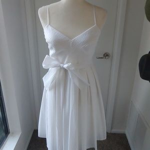 Calvin Klein Pleated Dress